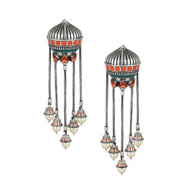Amrapali - Mughal Garden Dangling Earrings
