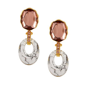 Tarun Tahiliani - Tara Patina Blush Earring