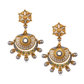 Amrapali - Baroque Cresent Earrings