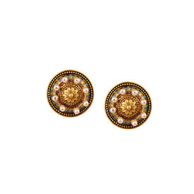 Amrapali - Baroque Pearl Studs
