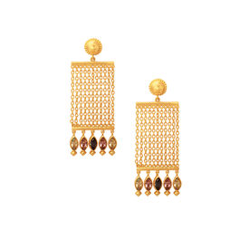 Amrapali - Sunset Chain Drop Earrings