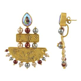 JJ Valaya - Isfahan Grandeaur Earrings