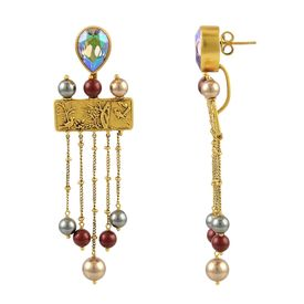 JJ Valaya - Isfahan Pearl Drop Earrings