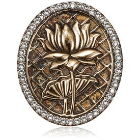 Rohit Bal - Signature Lotus Brooch