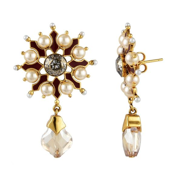 Tarun Tahiliani - Tara Gold Drop Earring