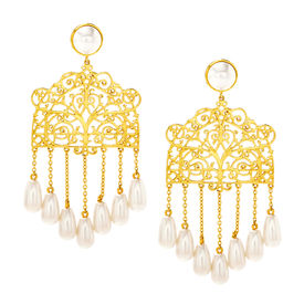 Eina Ahluwalia - Gazebo Earrings