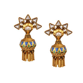 Amrapali - Baroque Dange Earrings