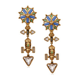 Amrapali - Baroque Chakra Earrings