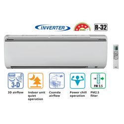 Inverter 4 Star 1 Tr_ FTKP35, cooling only, inverter, split ac