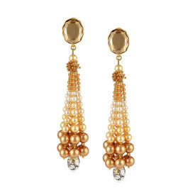 Tarun Tahiliani - Tara Gold Tassel Earrings