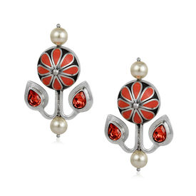 Amrapali - Mughal Garden Flower Earrings