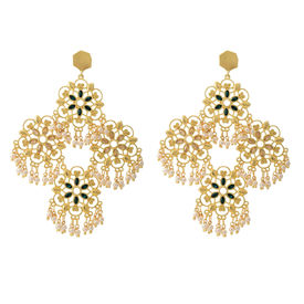 Zariin - Theme of Gold Earrings
