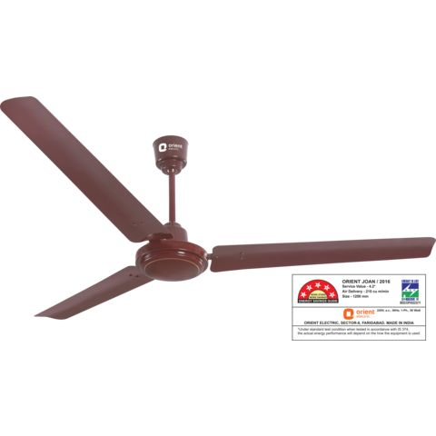 Smart saver 50 -energy efficient fan 1200 mm,  brown