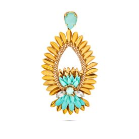 Deepa Gurnani - Mala Mint Earrings