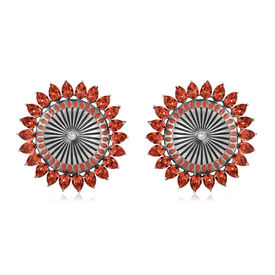 Amrapali - Mughal Garden Circular Earrings