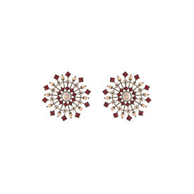 Tarun Tahiliani-Luminescent Statement Deco Studs