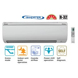 Inverter 5 Star 1 Ton Split Air Conditioner_ FTKG35, inverter, cooling only, split ac