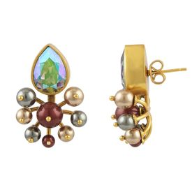 JJ Valaya - Isfahan Cluster Earrings