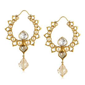 Tarun Tahiliani - Tara Hoop Drop Earring