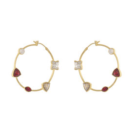 Zariin - Take Five Hoop Earrings