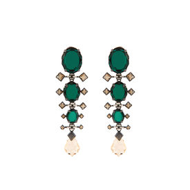Tarun Tahiliani-Luminescent Cascade Earrings