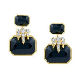 Isharya - Night Song Classic Jet Earrings