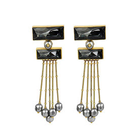 J J Valaya - Ranas Warrior Princess Tiered Earings