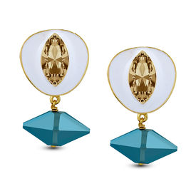 Shivan & Narresh - Pico Bianco Earrings