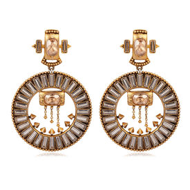 Amrapali - Baroque Grandeur Earrings