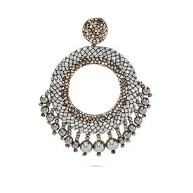 Deepa Gurnani - Ria Grey Earrings