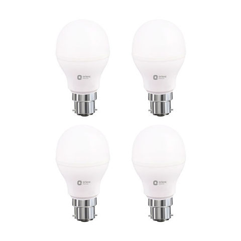 LED LAMP 9W WHITE PACK OF 4 (BEE 5 STAR)