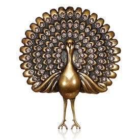 Rohit Bal - Dancing Peacock Brooch