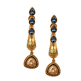 Amrapali - Baroque Droplet Earrings