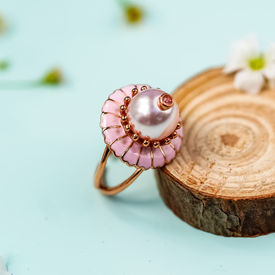RAHUL MISHRA - DAISY DROP RING