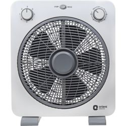 Orient Electric Proteus 43 Watts Box fan (300mm, Greyish White)
