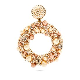 Deepa Gurnani - Ashi Cream Earrings