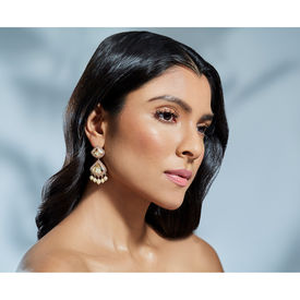 Suneet Varma - Celestial Earrings-Gold