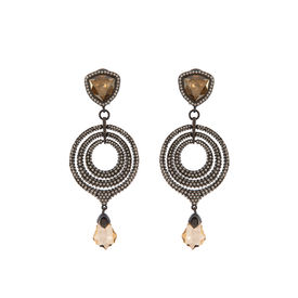 Tarun Tahiliani-Luminescent Victorian Chaand Earrings