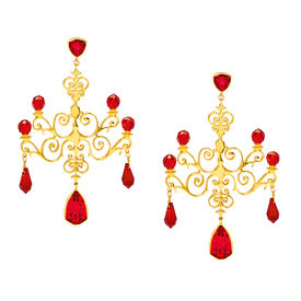 Eina Ahluwalia - Chandelier Earrings