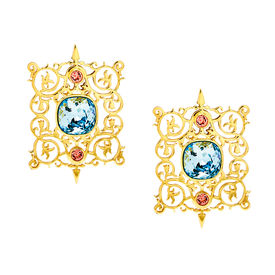 Eina Ahluwalia - Cartouche Earrings