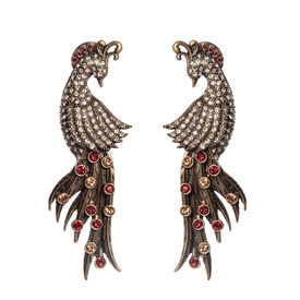 Rohit Bal - Guldastah Peacock Earrings