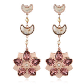 Suneet Varma - SV-020-Shining Star Earrings-Gold