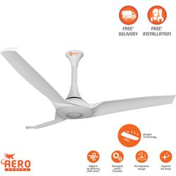 Orient Aerostorm 1320MM ceiling fan,  white