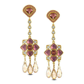 Suneet Varma - Enchanted Forest briolette drop Earrings