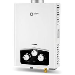 Orient Vento gas water heater(6 Lts) (LPG) (with display)