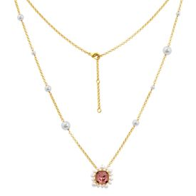 Isharya - Desert Pearl Necklace Rose