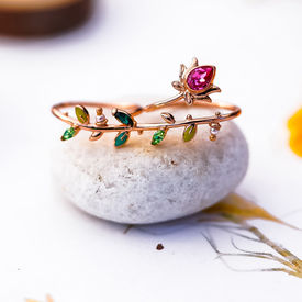 RAHUL MISHRA - LOTUS GEM RING