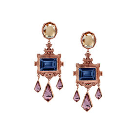 Eina Ahluwalia - La Rinascita Montanna Drop Earrings