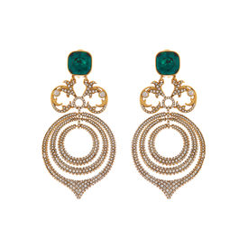 Tarun Tahiliani-Luminescent Chandelier Earrings