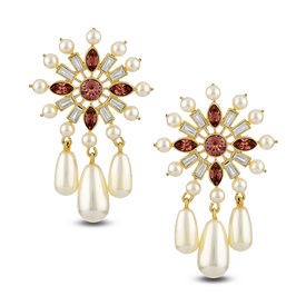 Suneet Varma - Enchanted Forest Floral Earrings